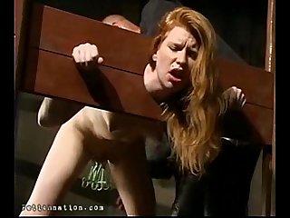 Redhead tortured