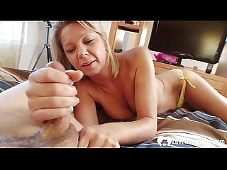Desirable blonde stepmom wants a stiff shaft