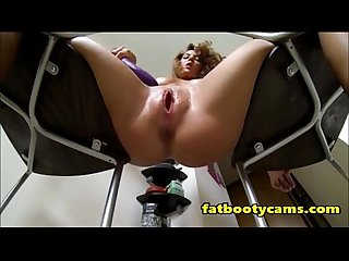 Up close squirting with young teen fatbootycams com