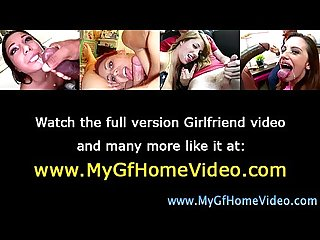 Amateur real gf gets a facial