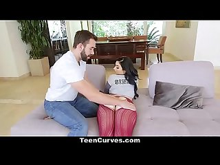 TeenCurves - Curvy Teen Gets Her Fatass Plowed