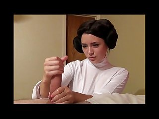 Princess leia gives a handjob