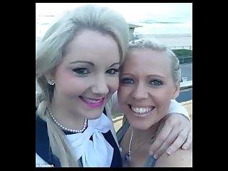 Lesbian selfies