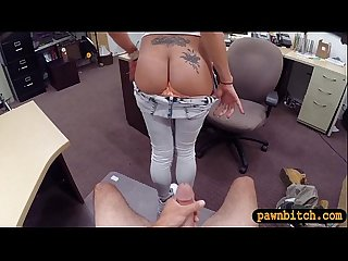 Big boobs latina nailed by pawnkeeper at the pawnshop