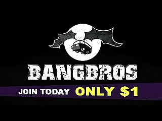BANGBROS - Marley Brinx Loves Monster Cocks, And Mangino's Big Black Dick In Particular