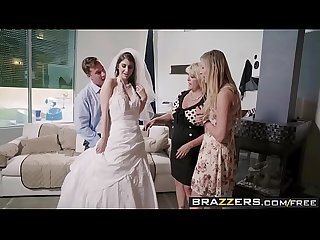Brazzers Real Wife stories say yes to getting fucked in your wedding dress scene starring karina