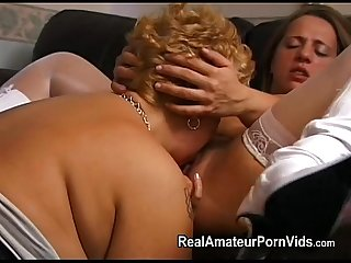 Mature plump housewives toy and assplay