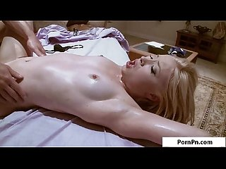 Blonde sweety massage