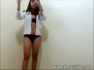 Cute student screwdriver scandal www kanortube com