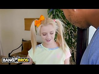 Bangbros tiny blonde riley star takes on ricky johnson s big black monster cock