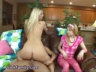Mom daughter bang a guy