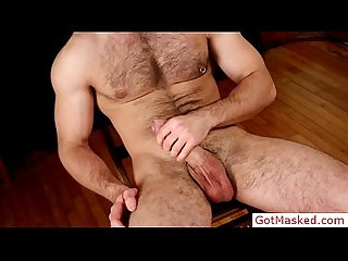Hairy dude busting his nuts by gotmasked