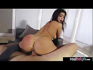 Hardcore Sex Scene In Front Of Cam With Sluty Hot GF (leah gotti) clip-19
