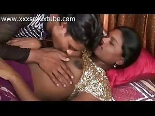 xxxsexxxtube.com Poonam and Raju sex in saree milking