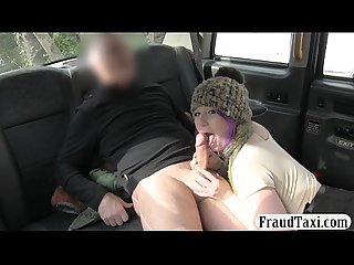 Goth girl anal rammed by nasty driver