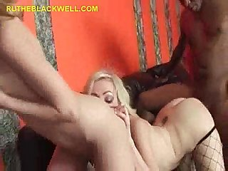 Black cock shared by blondes