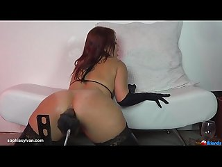 sophia sylvan getting fucked by machine 603