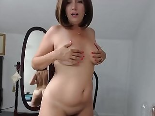Hot milf fuck dildo msturbate hairy pussy and squirt