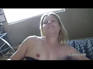 Raunchy milf Lisa fucks her wet twat with a dildo