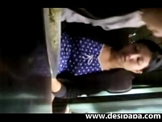 Bangla babe getting her boobs fondled and press hard in public bus