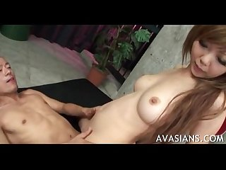 Hairy japanese teacher loves rough anal