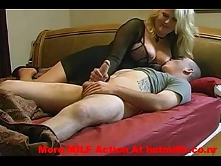 Horny MILF Sucks And Fucks Her Step Son � More MILF Action At hotmilfs.co.nr