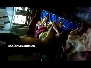 South indian Desi wife sexy fucking on bed hot video new