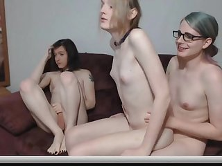 Tgirl threesome from sexcamtranny com