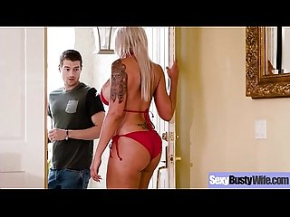 Banging on camera a naughty busty gorgeous housewife lpar Nina elle rpar Mov 21