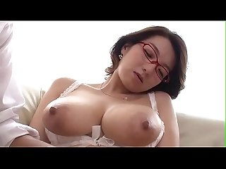Japanese sexy grandma for boy