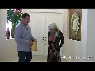 Joe Average gets some Mature MILF/COUGAR pussy and fucks lingerie sales lady Sally Dangelo