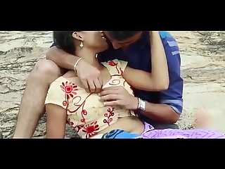 Desi girl Romance with ex boyfriend in outdoor hot telugu romantic short film 2017