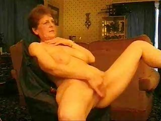 Hot granny rubbing her pussy period amateur older