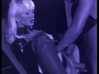 Very beautiful blonde helen duval in leather latex takes deep anal zenza raggi