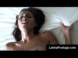 Beautiful latina kiarra wolfe fucks her lover to completion to take his load