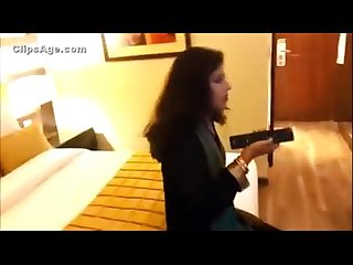 Desi Honeymoon in hotel