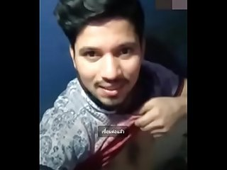 Indian handsome man​ jerk​ off