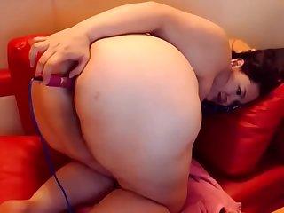 Bbws first time doing anal watch part2 on cumcam com