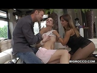 Black angelica and cayenne klein wants rocco S dick anally