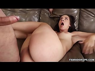 Cassidy klein and her stepunc get it on
