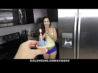 Sislovesme fucking my stepsis for her birthday