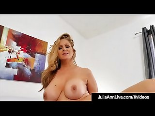 Busty Gorgeous Milf Julia Ann Just Wants To Fuck Someone!