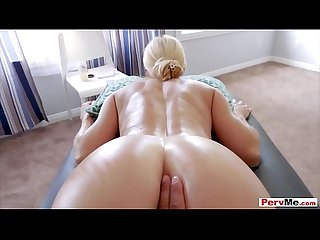 Stuffing my sexy MILF stepmom like a turkey