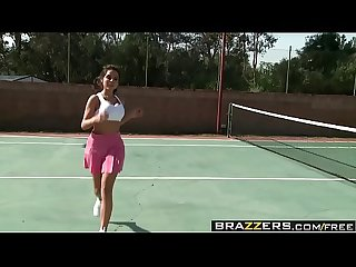 Brazzers - Big Tits In Sports - Playing with my Tennis Balls scene starring Yurizan Beltran and Jord