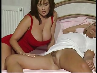Dirty talking british slut fucked in car showroom