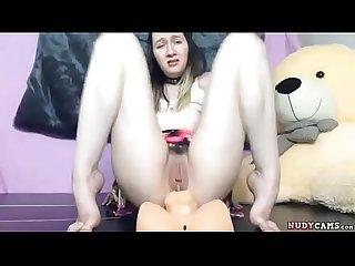 Nice slut live anal cam