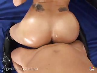 Big boobs Chloe dior gets a facial