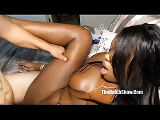too sexy chocolate mckenzie lee fucked by baby daddy