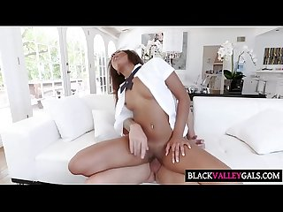 Sexy Ebony Princess Gets Elected