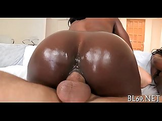 Long awaited sex with darksome hottie